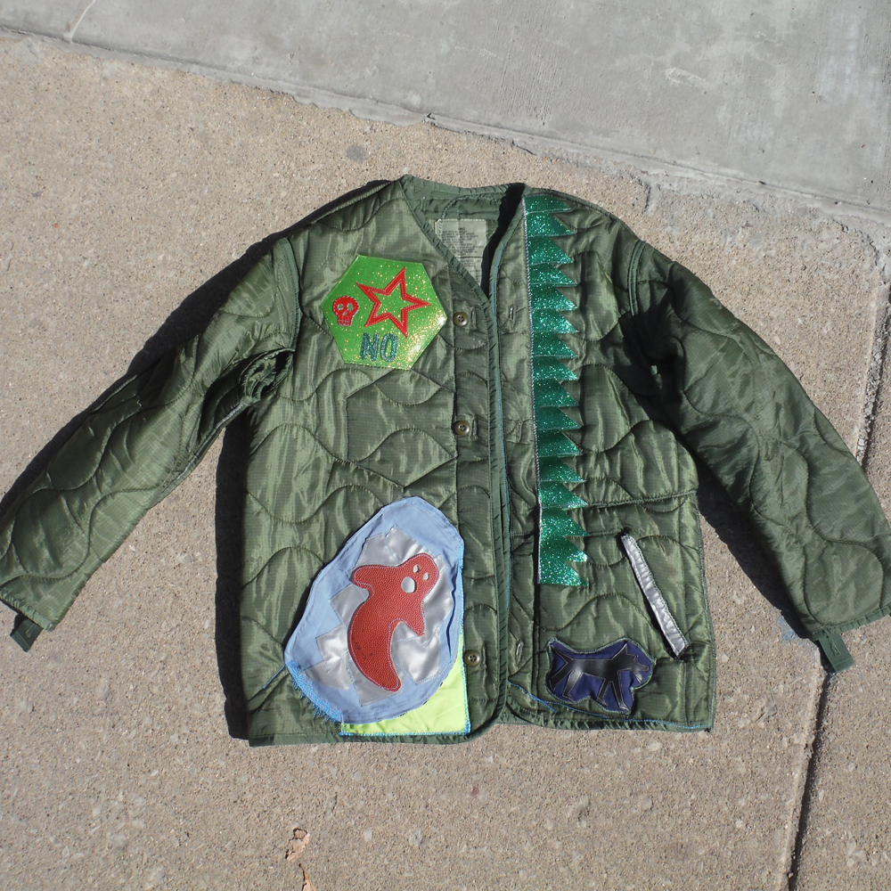 The Front of Zach's jacket